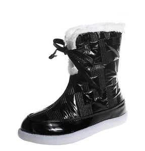 Invomall British Style Keep Warm Women's Boots