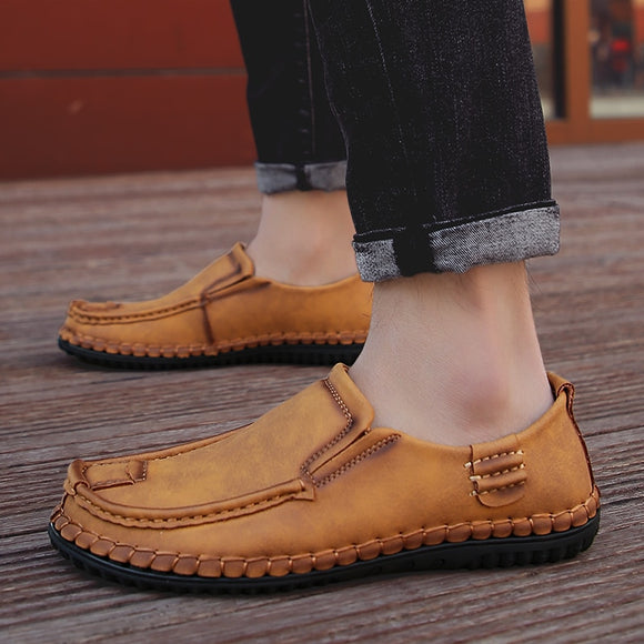 Invomall Handmade Men's Comfortable Casual Shoes