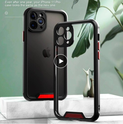 Invomall Camera Protection Shockproof Bumper Phone Case For iPhone