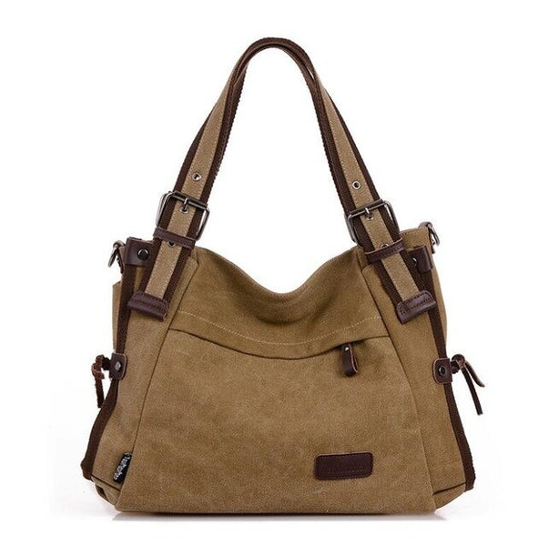 Invomall Women's Canvas Shoulder Bags