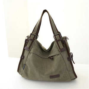 Bag - Women New Canvas Large Capacity Shoulder bags