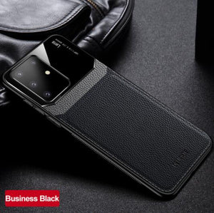 Invomall Leather+hard PC With Stand Ring Case For Note 20 S20 S20Plus