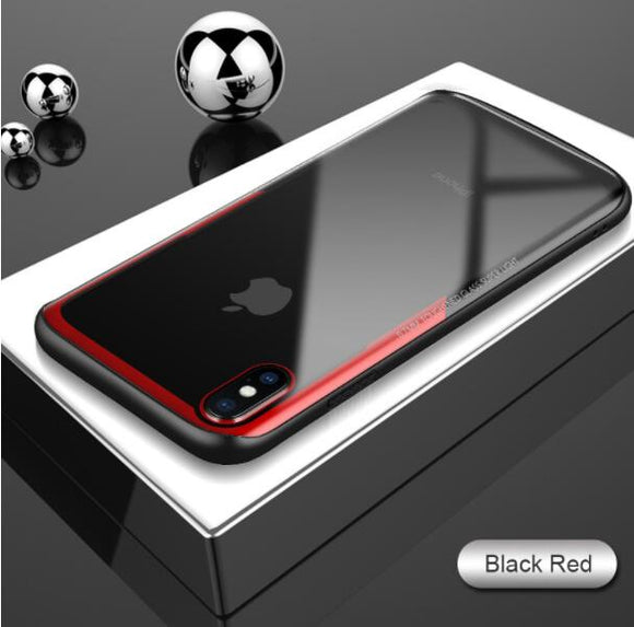 Invomall 3D Tempered Glass Super Clear Hard Shockproof Case For iPhone