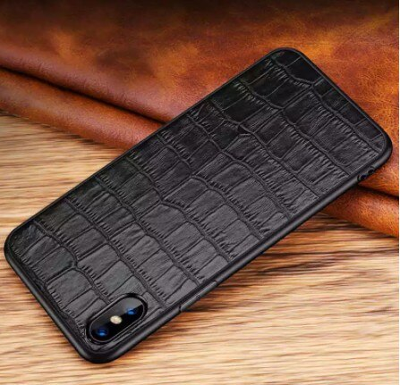 Invomall Luxury Genuine Leather Case For iPhone