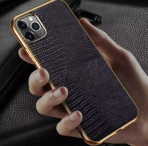 Invomall Genuine Leather Full Protection Case For Iphone