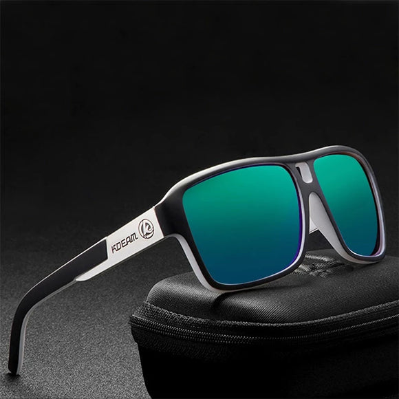 Invomall Men's Polarized Square Sunglasses