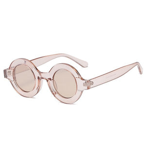 Sunglasses - Classic Design Retro Round Sunglasses