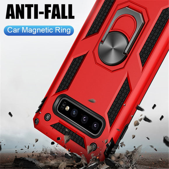 Invomall Luxury Car Magnetic Ring Case For Samsung Galaxy
