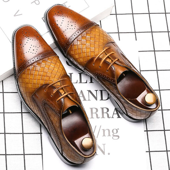 Shoes - Newest Men's Brogue Formal Oxford Shoes