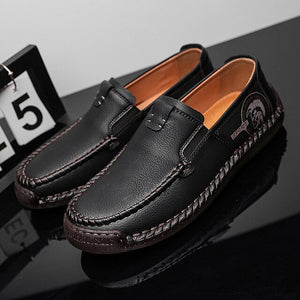 Invomall Men's Quality Casual Leather Loafers