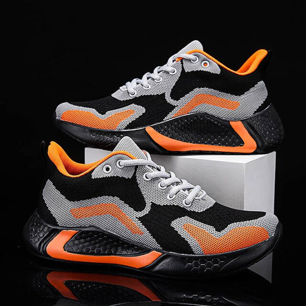 Invomall Men's Breathable Sports Shoes