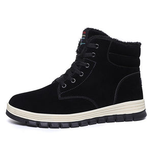 Invomall New Arrival Men's Handmade Ankle Boot