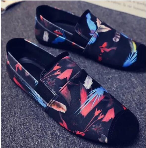 Men's Shoes - 2019 Fashion Handmade Soft Breathable Moccasins Shoes
