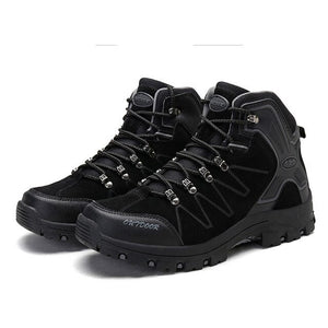 Invomall Men's Outdoor Safety Work Shoes