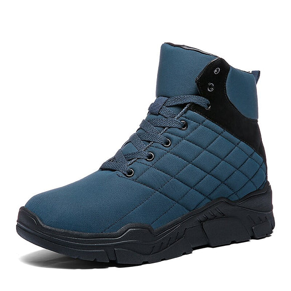 Invomall Men's New Stylish Warm Snow Boots