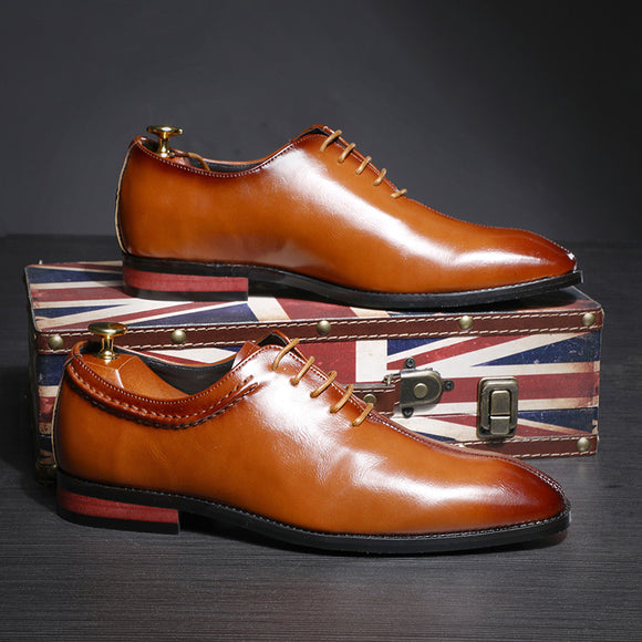 Invomall High Quality Classical Style Business Shoes
