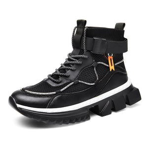 Invomall Men's New Autumn High Top Sneakers