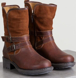 Shoes - Waterproof Leather Suede Boots