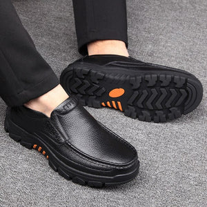 Invomall Spring Autumn Men's Business Dress Shoes