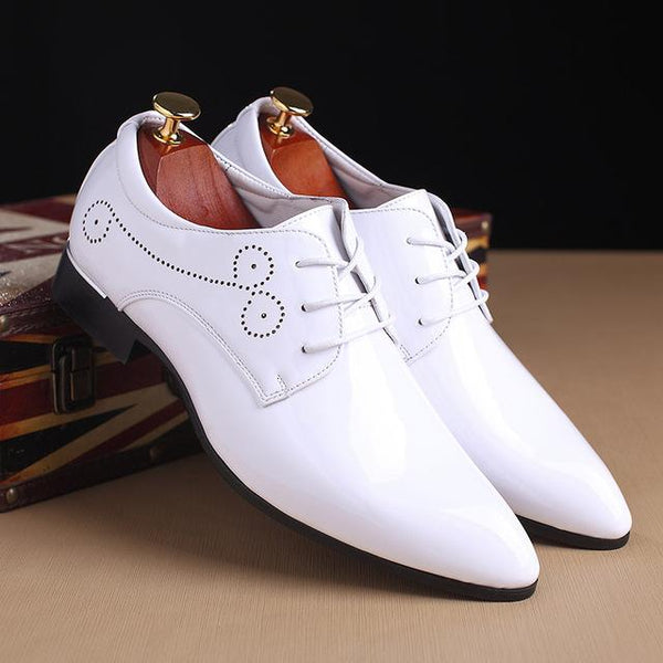 Shoes - 2018 New Patent Leather Men's Fashion Dress Shoes(BUY ONE GET ONE 20% OFF)