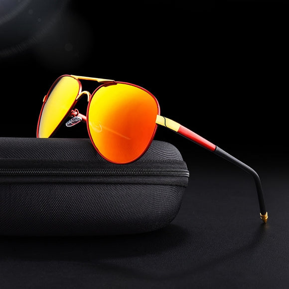 Invomall High Quality Polarized Pilot Driving Sunglasses