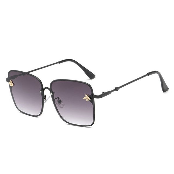 Sunglasses - Retro Square Gradient Sunglasses