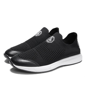 Invomall Men's Mesh Slip-on Running Shoes