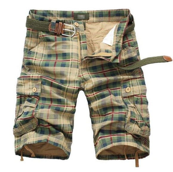 Invomall Summer Men's Camouflage Cargo Shorts