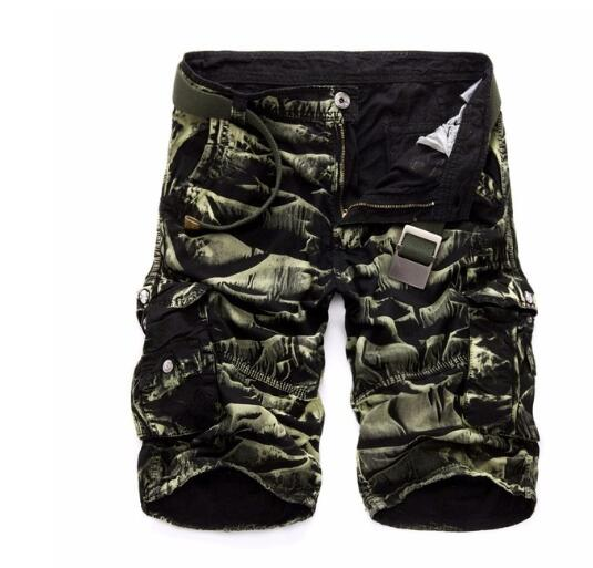 Invomall Summer Men's Cargo Shorts