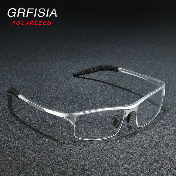 Invomall Super Light Aluminum Half Frame Glasses