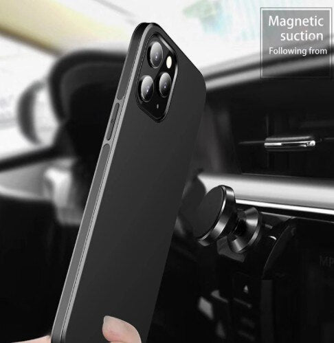 Invomall Ultra-thin Magnetic Matte Phone Case For iPhone