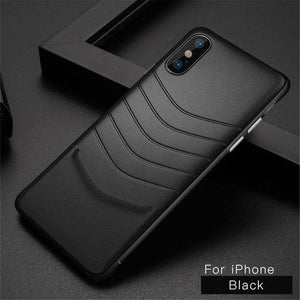 Invomall Luxury Vintage Ultra Thin PU Leather Protective Phone Case For iPhone