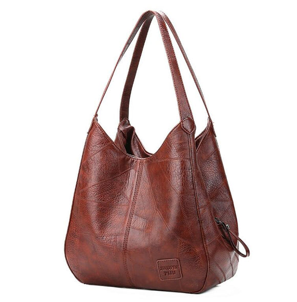 Invomall Women's Vintage Top-handle Bags