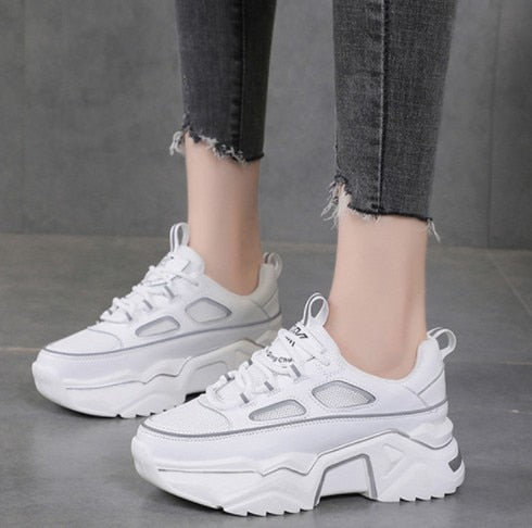 Invomall Women's Warm Dad Sneakers