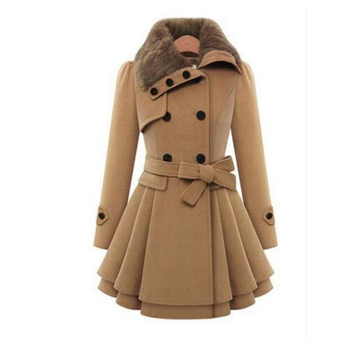 Women's Clothing - Winter Women Warm Coat Windbreaker