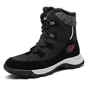 Invomall Men's Winter Warm Snow Boots