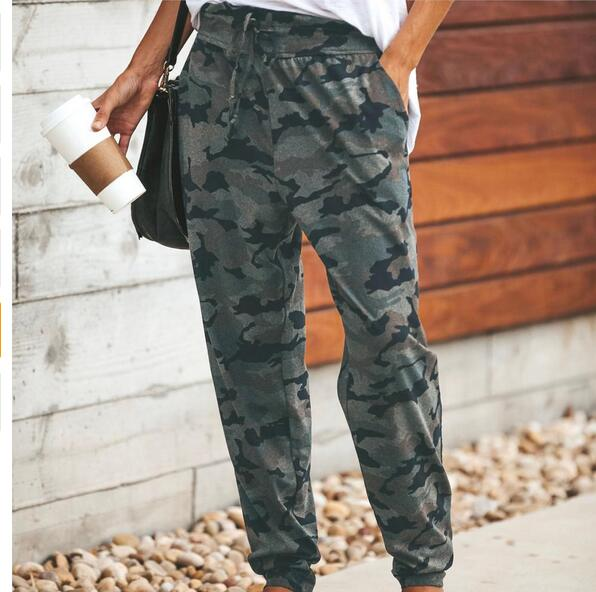Pants - Long Camouflage Casual Pants