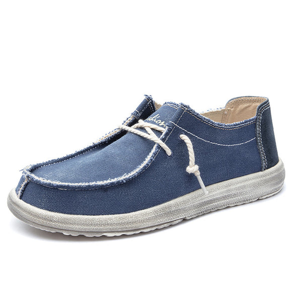 Invomall Fashion Breathable Casual Canvas Shoes