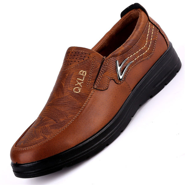 Invomall Vintage Leather Men's Moccasins Shoes(Buy 2 Got 5% off, 3 Got 10% off Now)