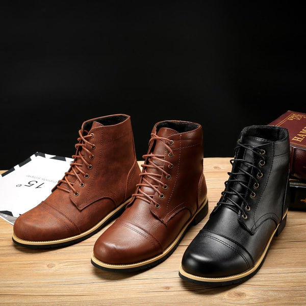 Shoes - Autumn Winter Men's Fashion Ankle Boots