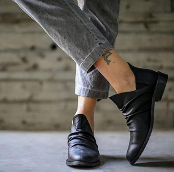 Shoes - Fashion Women's Leather Boots