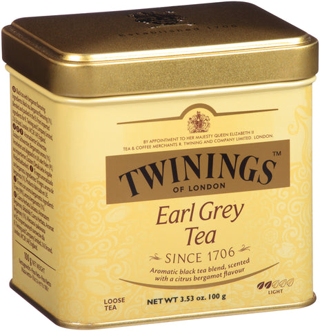 Earl Grey Loose Tea 6/100g tin, case