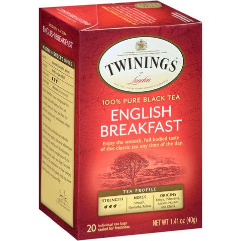 English Breakfast 6/20ct, case