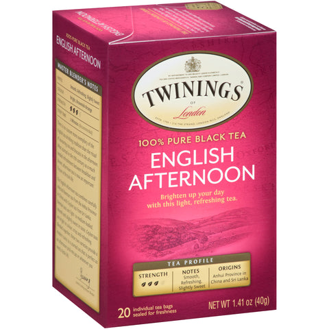 English Afternoon 6/20ct, case
