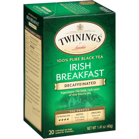 Irish Breakfast Decaf 6/20ct, case