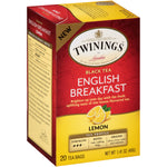 English Breakfast Lemon 6/20ct, case