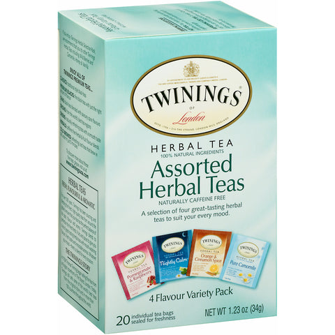 Assorted Herbal Teas 6/20ct, case