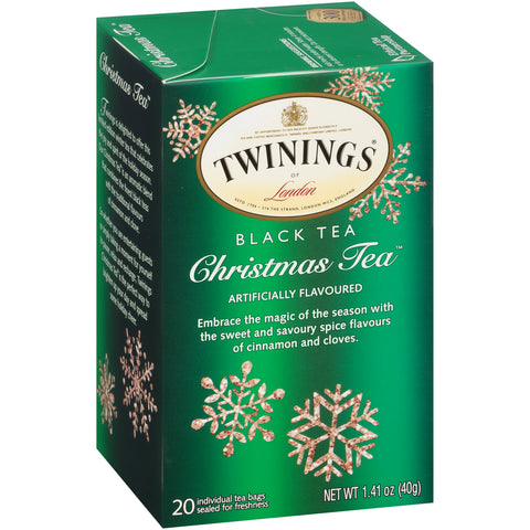 Christmas Tea 6/20ct, case