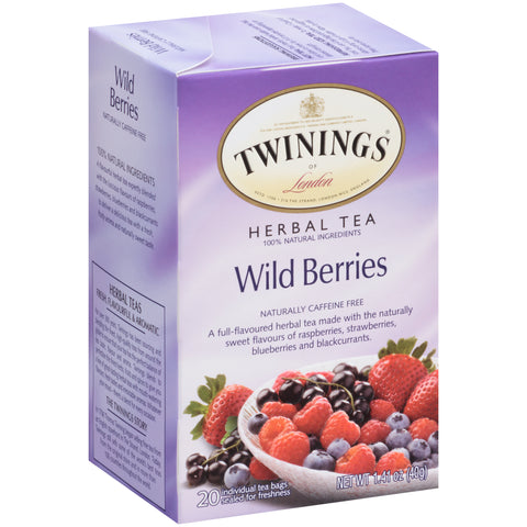 Wild Berries 6/20ct, case