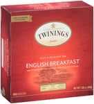 English Breakfast 4/100ct, case